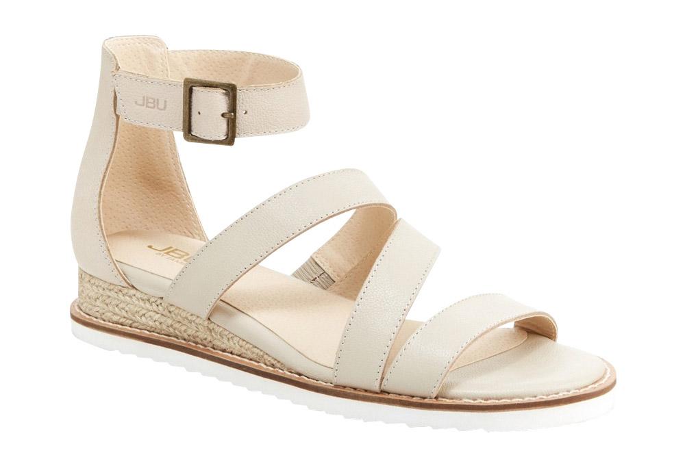 JBU Riviera Sandals - Women's - nude solid, 7