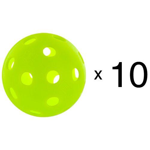 Jugs Indoor Pickleballs 10 Count: Jugs Sports Pickleball Balls