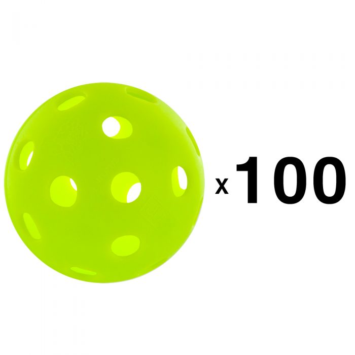 Jugs Indoor Pickleballs 100 Count: Jugs Sports Pickleball Balls