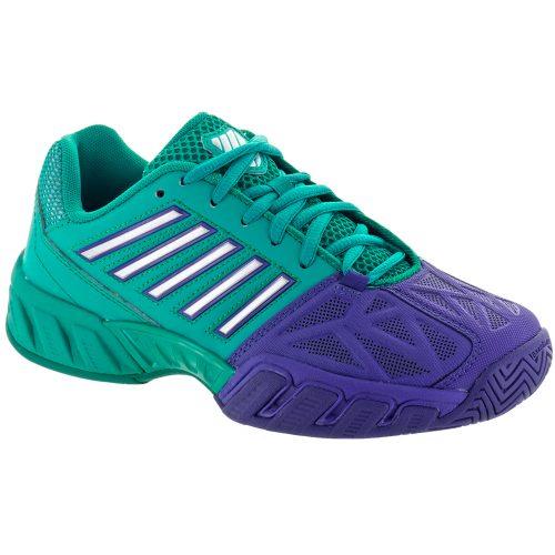 K-Swiss Bigshot Light 3 Junior Pigment Blue/Columbia: K-Swiss Junior Tennis Shoes