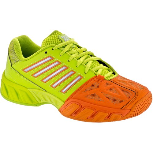 K-Swiss Bigshot Light 3 Junior Popsicle/Lime Punch: K-Swiss Junior Tennis Shoes