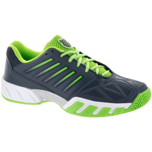K-Swiss Bigshot Light 3: K-Swiss Men's Tennis Shoes Dark Shadow/Jasmine Green