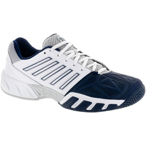 K-Swiss Bigshot Light 3: K-Swiss Men's Tennis Shoes White/Navy