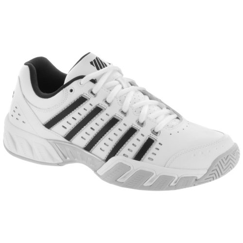 K-Swiss Bigshot Light LTR: K-Swiss Men's Tennis Shoes White/Black