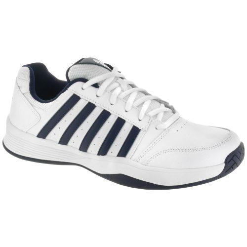 K-Swiss Court Smash: K-Swiss Men's Tennis Shoes White/Navy