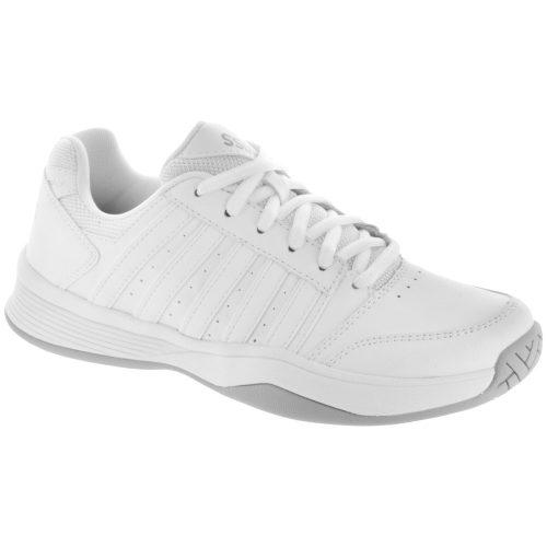 K-Swiss Court Smash: K-Swiss Women's Tennis Shoes White/Highrise