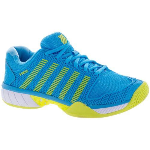 K-Swiss Hypercourt Express: K-Swiss Women's Tennis Shoes Aquarius/Neon Citron