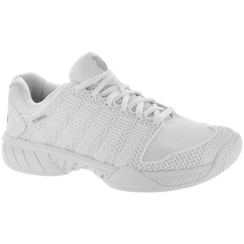 K-Swiss Hypercourt Express: K-Swiss Women's Tennis Shoes White/Highrise