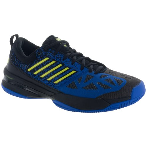 K-Swiss Knitshot: K-Swiss Men's Tennis Shoes Black/Strong Blue/Neon Citron
