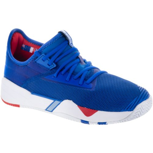 K-Swiss SI-2018: K-Swiss Men's Tennis Shoes Strong Blue/White/High Risk Red