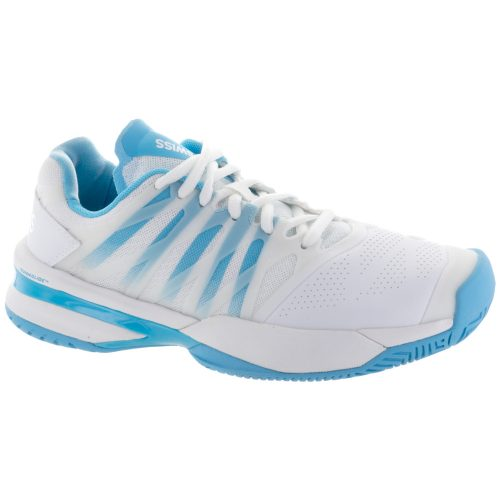 K-Swiss Ultrashot: K-Swiss Women's Tennis Shoes White/Aquarius