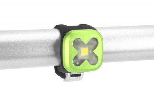 Knog Blinder Cross Front - lime green, one size