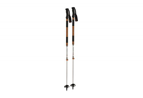 Komperdell Contour Titanal II Trekking Poles - black, adjustable