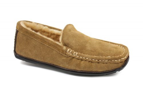 LAMO Boston Driving Moc - Mens - chestnut, 7