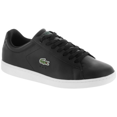 Lacoste Carnaby EVO LCR: LACOSTE Men's Tennis Shoes Black