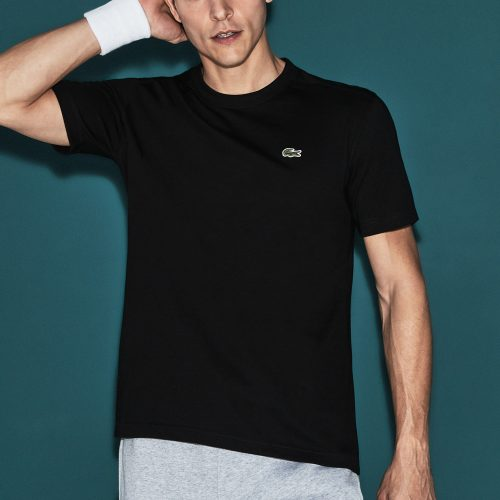 Lacoste SPORT Crew Neck T-Shirt: LACOSTE Men's Tennis Apparel