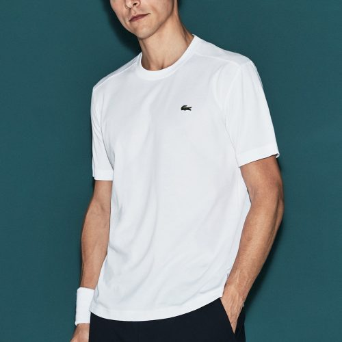 Lacoste SPORT Crew Neck T-Shirt: LACOSTE Men's Tennis Apparel