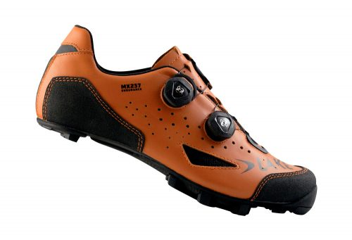 Lake MX237 ENDURO MTB Shoes - Men's - orange/black, eu 44.5