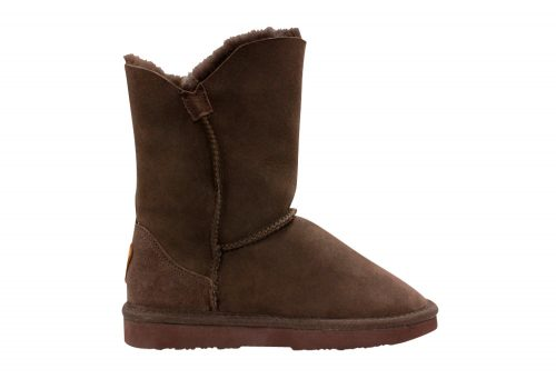 Lamo Liberty Sheepskin Boots - Women's - chocolate, 7