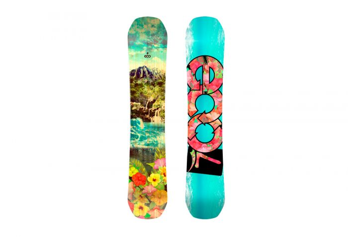 Launch Snowboards Launch Eco RC Snowboard - multi, 158cm