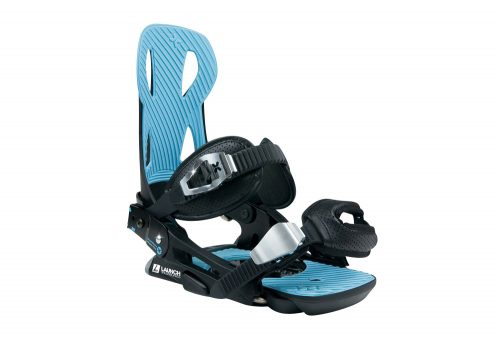 Launch Snowboards V2 Binding - black / blue, medium