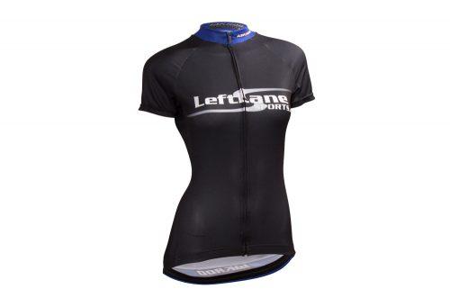 LeftLane Sports Team Jersey (Race Fit) - Womens - black/blue, medium