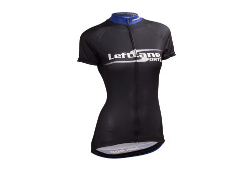 LeftLane Sports Team Jersey (Race Fit) - Womens - black/blue, small