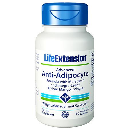 Life Extension Advanced Anti-Adipocyte Formula, Veggie Caps - 60 ea