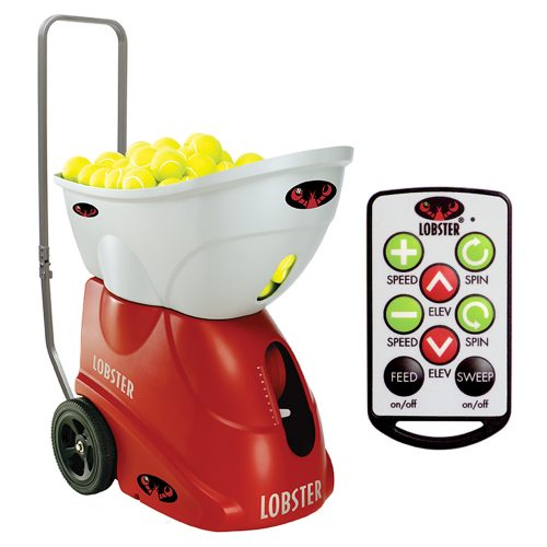 Lobster Elite 2 with Premium Charger & Remote: Lobster Sports Ball Machines