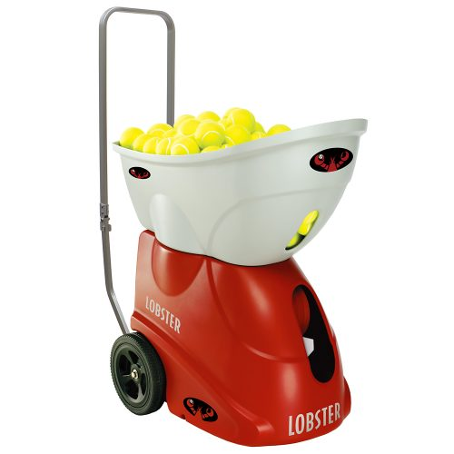 Lobster Elite Grand Four with Premium Charger & Remote: Lobster Sports Ball Machines