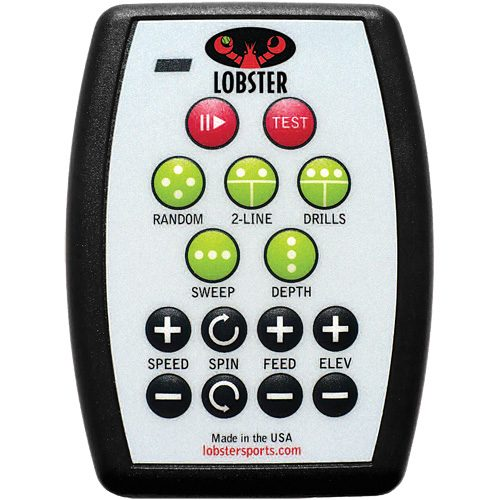 Lobster Grand 20-Function Remote: Lobster Sports Ball Machines