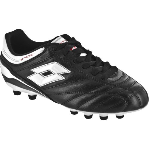 Lotto Stadio Suprema Junior Black/White: Lotto Junior Soccer Shoes
