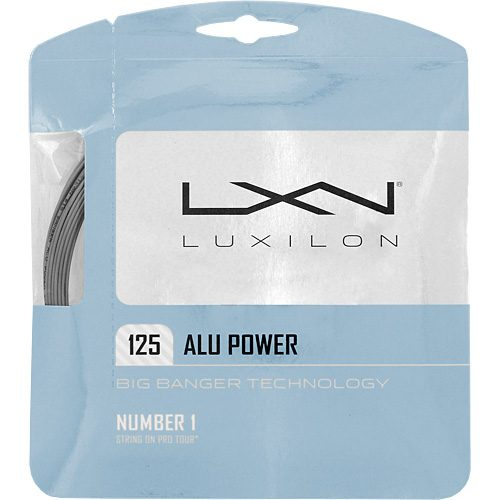Luxilon Big Banger ALU Power 125: Luxilon Tennis String Packages