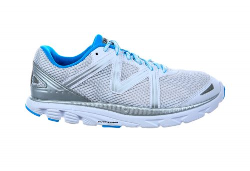 MBT Speed Lace Up Shoes - Women's - white/powder blue/silver, 13.0