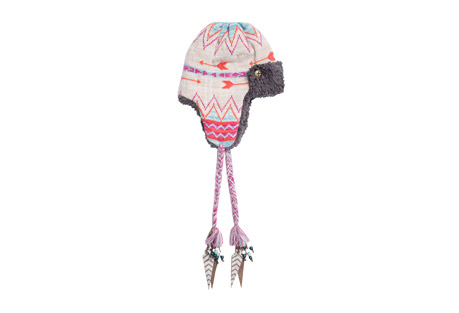 MUK LUKS Free Fairisle Trapper Hat - Women's