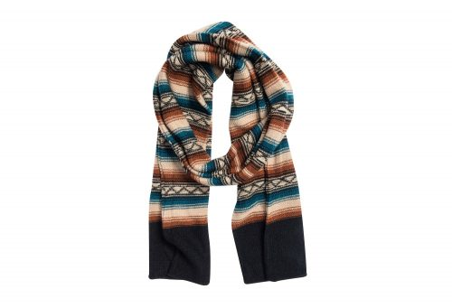 MUK LUKS Geo Basic Scarf - Women's - copper, one size