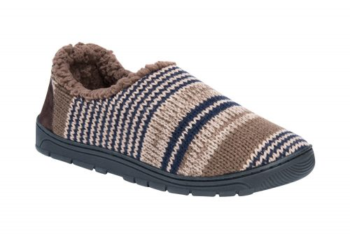 MUK LUKS John Slippers - Men's - mocha mousse, medium 10-11