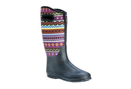 MUK LUKS Karen Rain Boots - Women's - sweater vest black, 6
