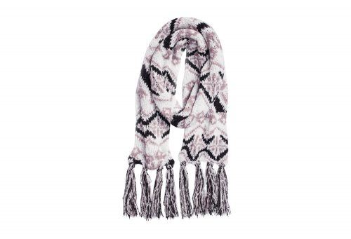 MUK LUKS Tribal Basic Scarf - Women's - vanilla, one size