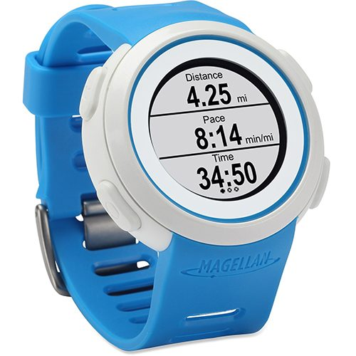 Magellan Echo Blue: Magellan GPS Watches