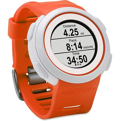 Magellan Echo with Heart Rate Monitor Orange: Magellan GPS Watches