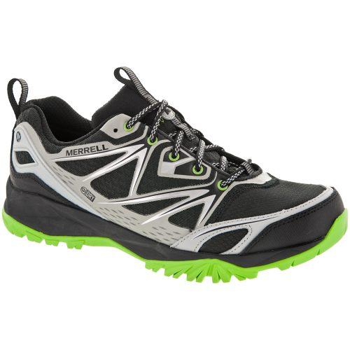 Merrell Capra Bolt Waterproof: Merrell Men's Hiking Shoes Black/Silver
