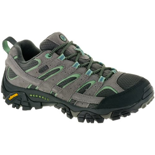 Merrell Moab 2 Waterproof: Merrell Women's Hiking Shoes Drizzle/Mint