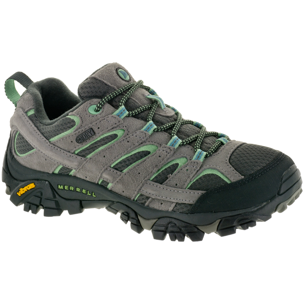 Merrell Moab 2 Waterproof: Merrell Women's Hiking Shoes Drizzle/Mint