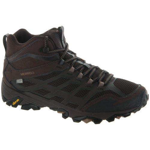 Merrell Moab FST Mid Waterproof: Merrell Men's Hiking Shoes Brown