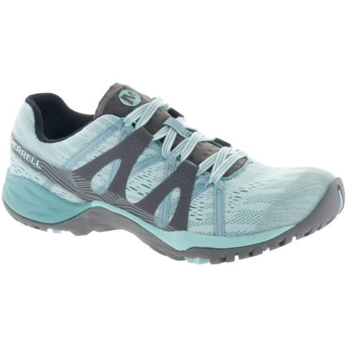 Merrell Siren Hex Q2 E-Mesh: Merrell Women's Hiking Shoes Bleached Aqua