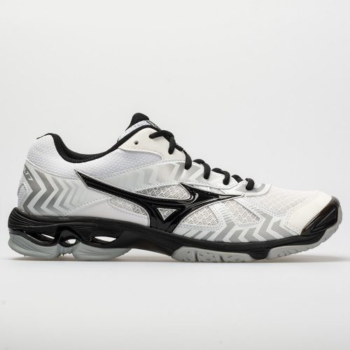 Mizuno Wave Bolt 7: Mizuno Women's Indoor, Squash, Racquetball Shoes White/Black