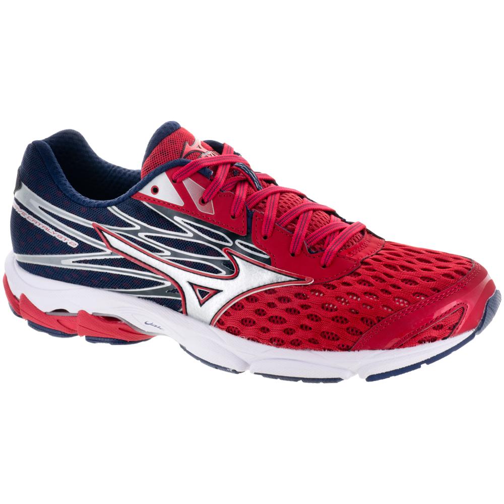 Mizuno Wave Catalyst 2: Mizuno Men's Running Shoes True Red/Silver/Peacoat