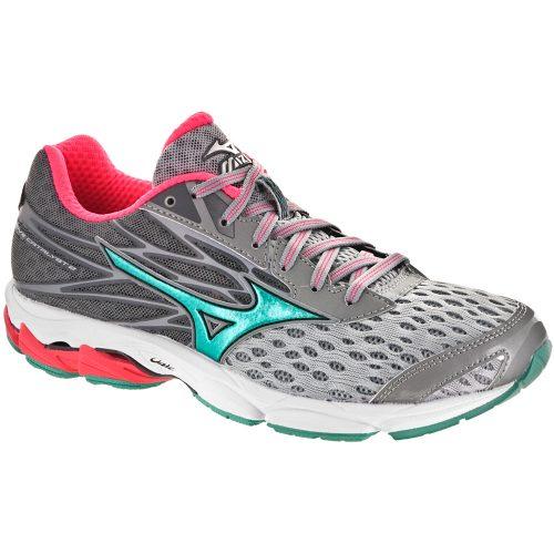 Mizuno Wave Catalyst 2: Mizuno Women's Running Shoes High-rise/Turquoise/Diva Pink