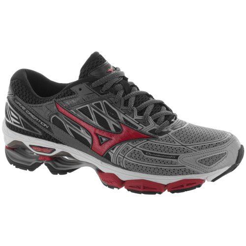 Mizuno Wave Creation 19: Mizuno Men's Running Shoes Griffin/True Red/Black